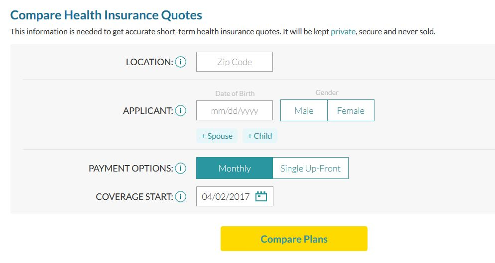 AgileHealthInsurance.com Compare Plans