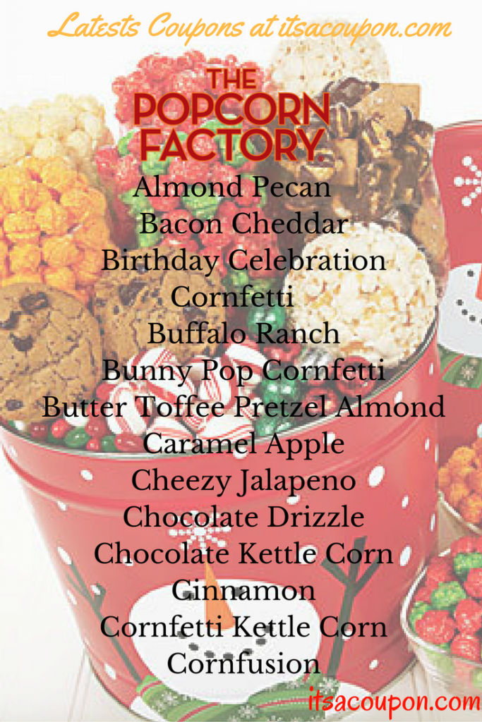Pick A Popcorn Gift Basket By Flavor
