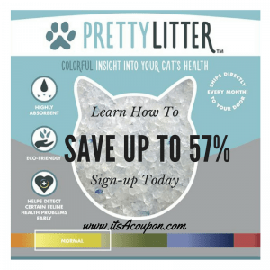 Pretty Litter Learn How to Save Up to 57%