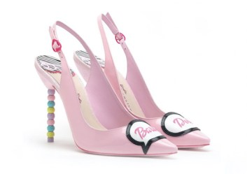 Sophia webster, barbie by sophia webster, barbie, footwear, shoes, flats, heels, british, designer, fashion, pink