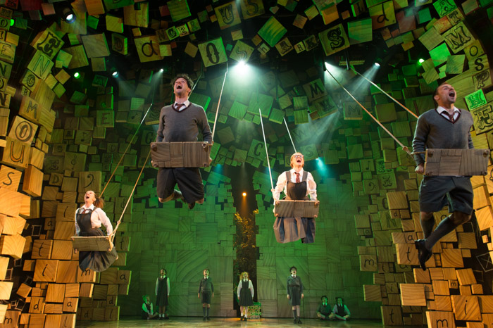 Matilda the musical,matilda,theatre,review,londo
