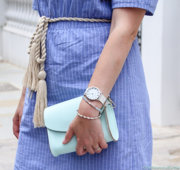 Sundress, Asos, Finding the Perfect Sundress, As Seen On Me, Keds, Stripes, Off-the-shoulder, dress, summer, Cambridge Satchel Company, Fashionista Barbie, Rope Tie, Sunglasses Shop, Outfit, Style Blogger, Top Fashion Blogger, Top UK Fashion Blogger