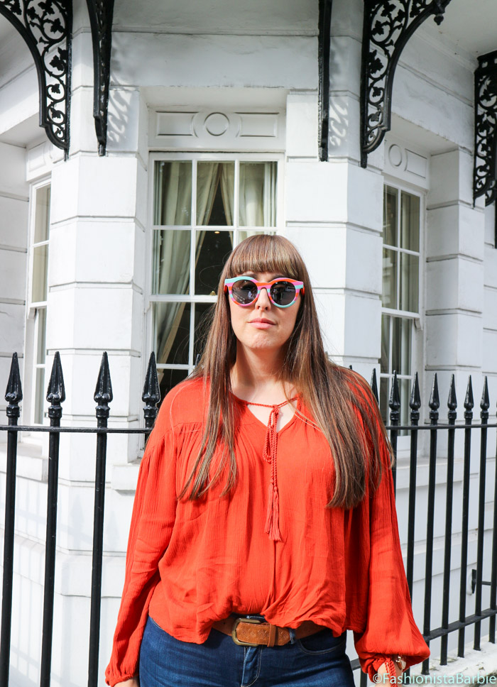 Swatch Sunglasses, Swatch The Eye, Swatch, Sunglasses, Asos, Saltspin, The Wallace Collection, Lulu Guinness, Fashionista Barbie, Fashion Blogger, Style Blogger, Style post, Outfit, Fashion, Orange, Colourful, Summer Style, Keds, Keds Style