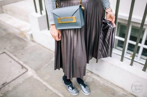pleated midi skirt, Next, Keds, Sophie Hulme, Midi Skirt, AW16, Fashionista Barbie, Fashion Blogger, Top UK Fashion Blogger, FBlogger, Style Blogger, Style Post, London Fashion Week
