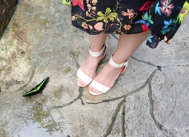 Ego Shoes, Ego, Tropical Florals, Florals, Fashionista Barbie, Malaysia, Butterflies, Statement Heels, Fashion Blogger, Top UK Fashion Blogger, Fashion Blog