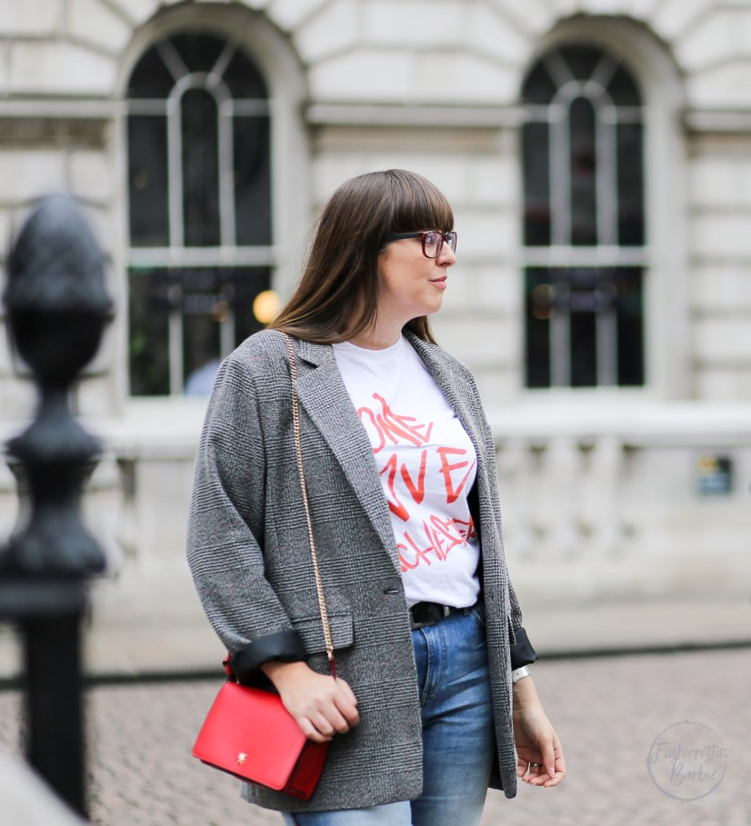 Blazer, Primark, London Street Style, London Fashion Week, LFW, Street Style, One Love Manchester, Style Blogger, UK Fashion Blogger
