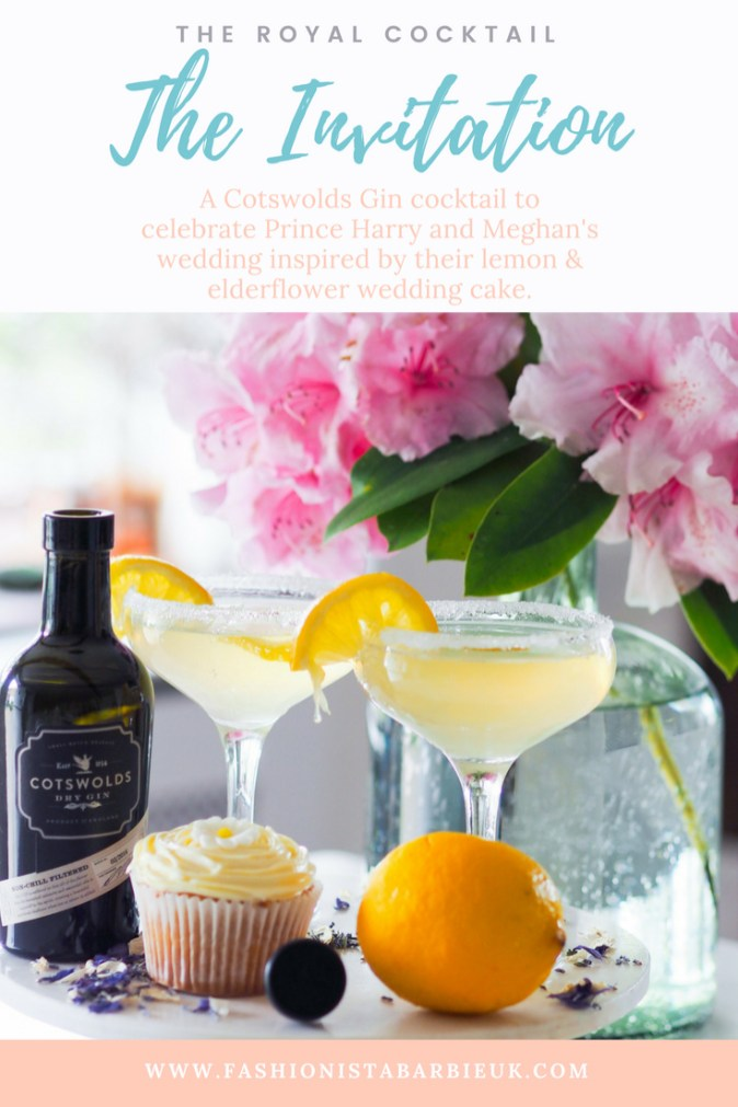 Royal Cocktail, Gin Cocktail, Cotswolds Dry Gin Cocktail, Cotswolds Gin, Cotswolds Distillery, Gin Cocktail, Prince Harry, Meghan, Cocktail, Pinterest cocktail, Cocktails, Lemon Cocktail