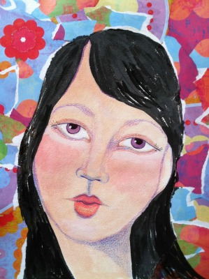 I Attempt To Paint Better Faces By Downloading The Whimsical Face Instructional Video