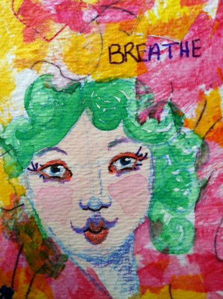 Breathe painting.