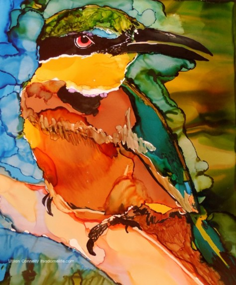 Birds of a feather: Bee Eater