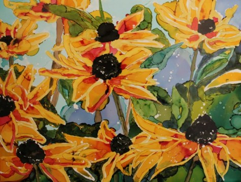 This painting would look great on your wall! Enter the giveaway.