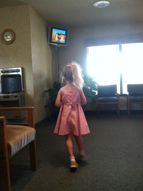 Don't Stand So Close To Me - When Kids stand too close to the TV
