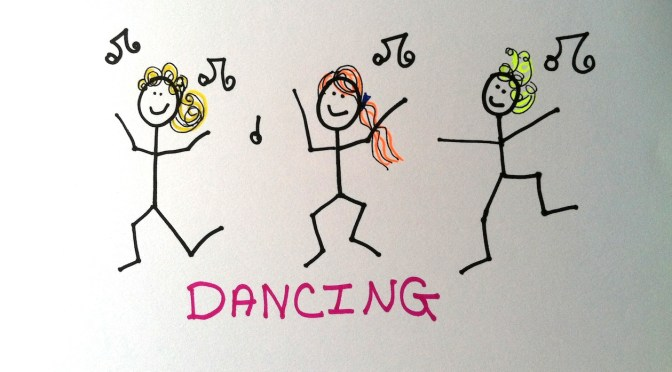 Stickman Drawing Challenge Day 5: Dancing