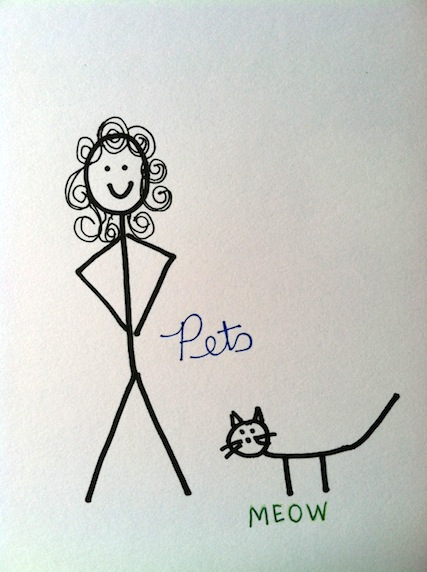 Stickman Drawing Challenge Day 3: Stickman Pets