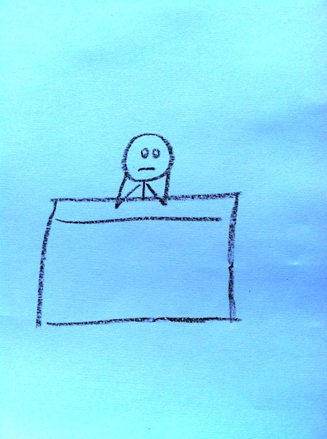 Stickman Drawing Challenge Day 8: Bored
