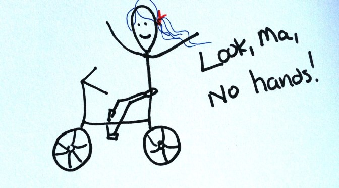 Stickman drawing challenge day 11: Riding a bicycle