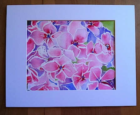 Hydrangea by Lillian Connelly