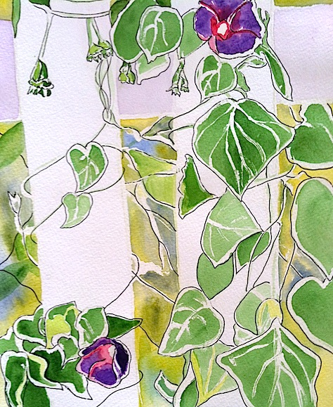 How To Recycle A Boring Watercolor Painting
