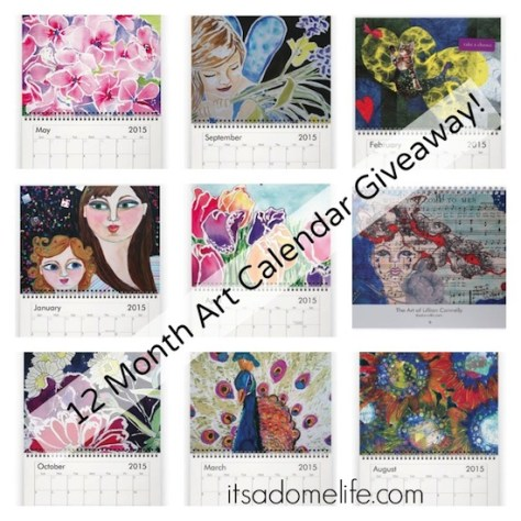 Art Calendar Giveaway - Gratitude November