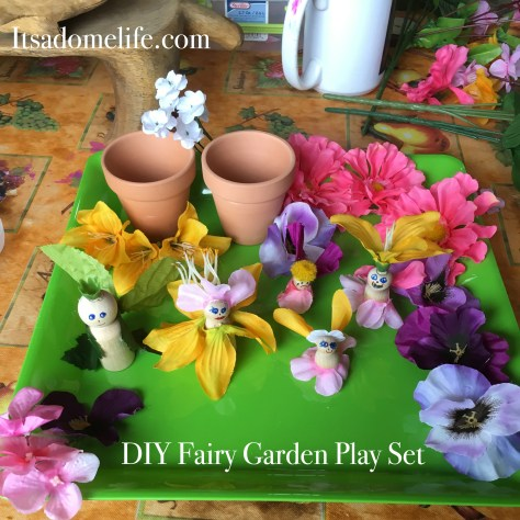 DIY Fairy Garden Play Set For Kids