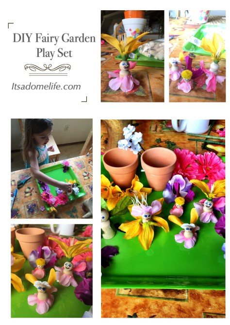 DIY Fairy Garden Play Set