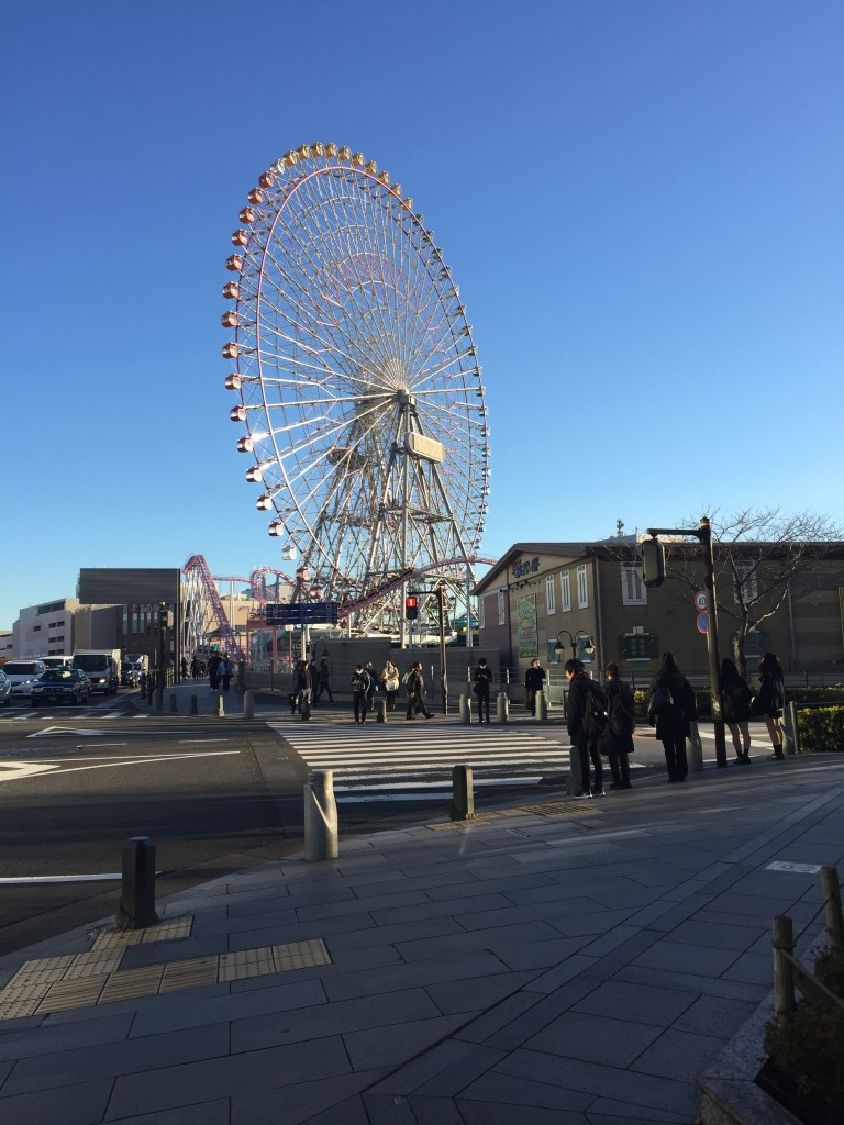 The Ferris Wheel / on the way to the Cup Noodle Museum Japan