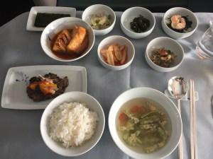 Bulgogi with water dropwort soup Hansik Jeongchan