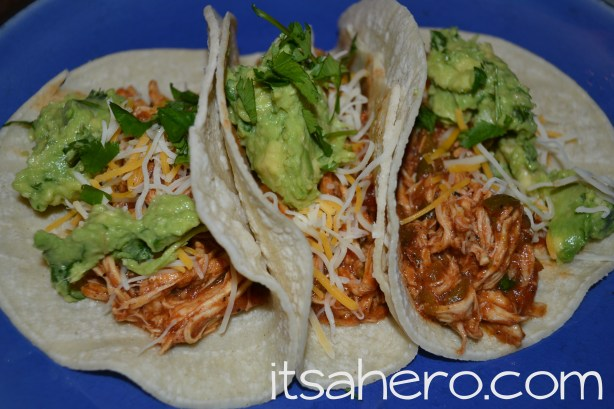 Chicken Tacos - itsahero dot com2