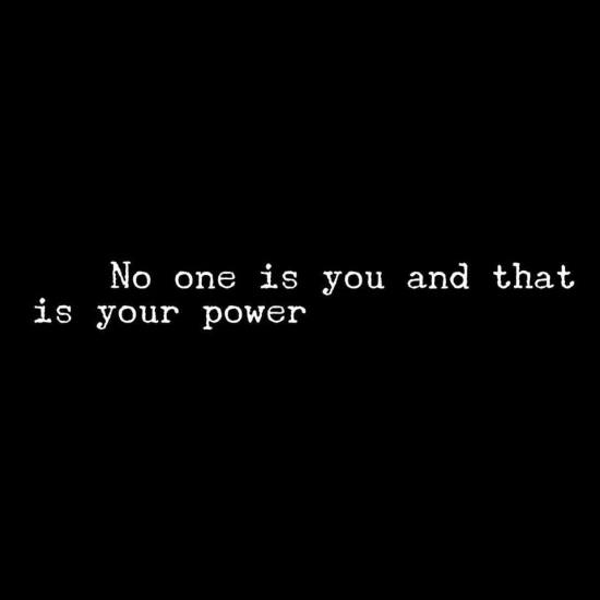that is your power