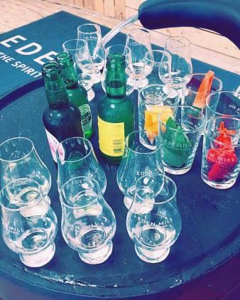 Eden Mill Gin Tasting