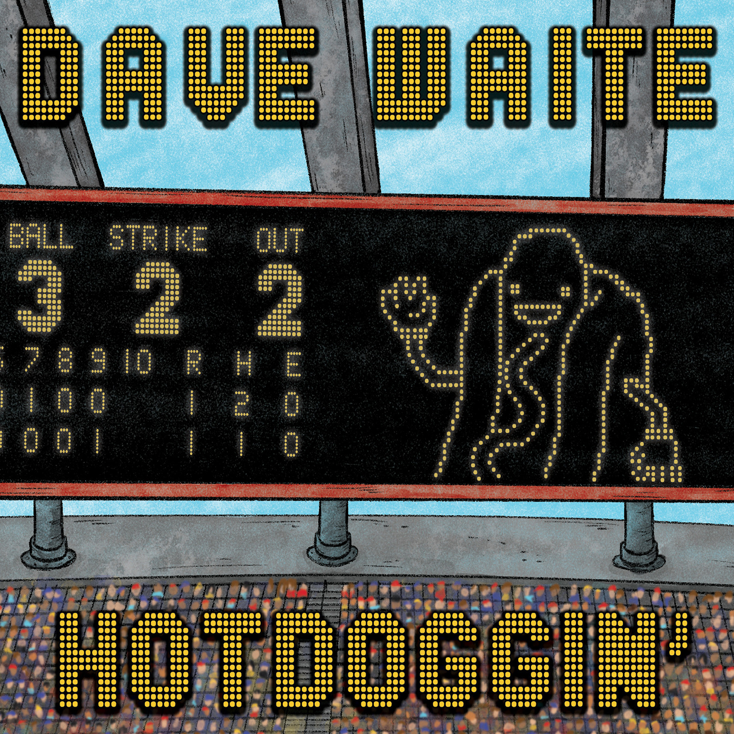 COMEDY NEWS: DAVE WAITE'S HOTTDOGGIN' OUT NEXT WEEK FOR YOUR SUMMER BBQ PLEASURE!