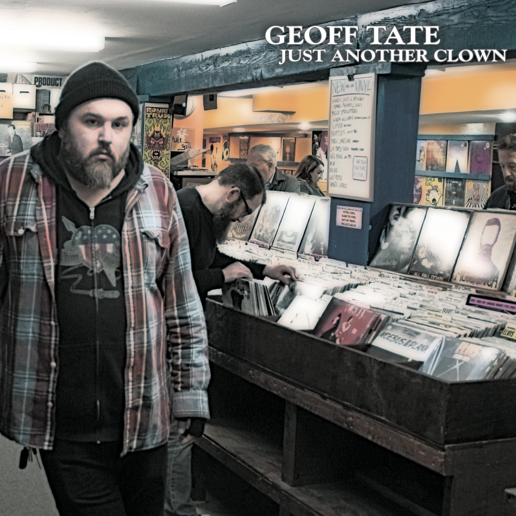 COMEDY NEWS DIGITAL: GEOFF TATE RETURNS WITH NEW CD JUST ANOTHER CLOWN