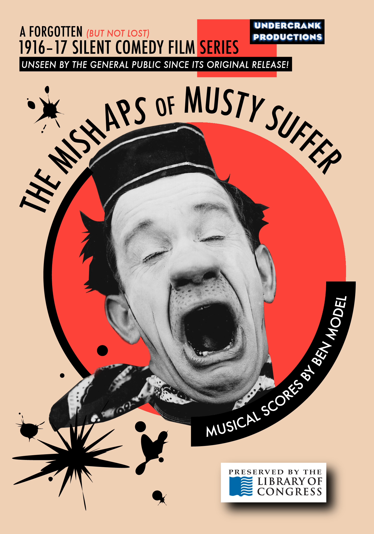 SILENT FILM NEWS: MUSTY SUFFER SET FOR DVD RELEASE APRIL 22