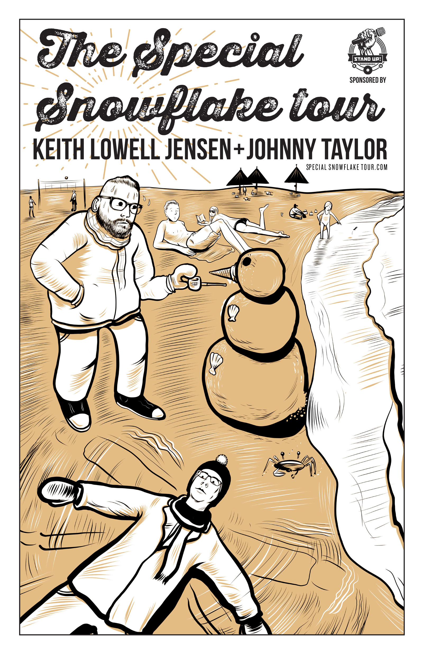 STAND UP! RECORDS SPECIAL SNOWFLAKE TOUR FEATURING KEITH LOWELL JENSEN AND JOHNNY TAYLOR CONFIRMED + DOCUMENTARY FILMING