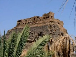 ZUBAYR'S CASTLE WAS ONE OF THE FIRST of the Khaybar fortresses that Muhammad captured.  The castle was thought to be impregnable because of its location at the top of a steep mount, but Muhammad discovered its water source, a spring that flowed under the mount that could reached from the castle.  He diverted the spring and when they ran out of water, the defenders fell back to another fortress.