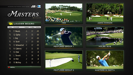 Grand Slam Golf Mosaic - Only on DIRECTV
