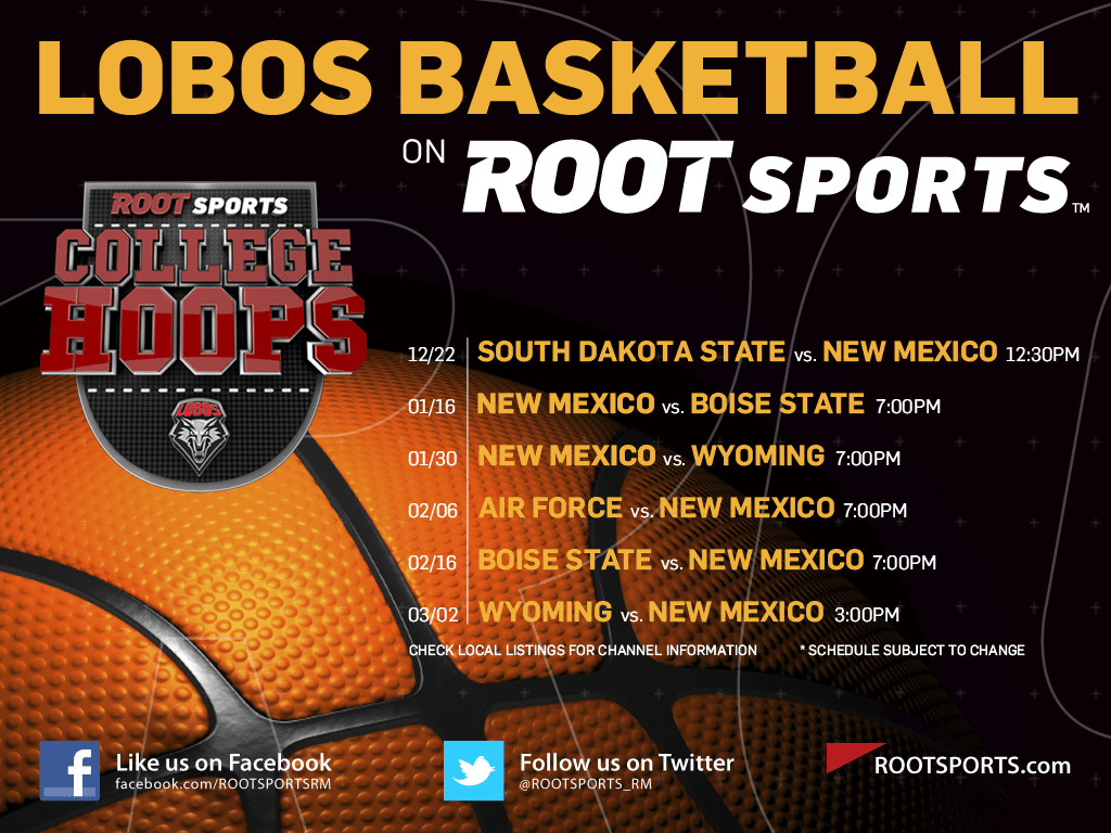 LOBO Basketball on Root Sports