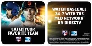 DIRECTV MLB Extra Innings Coasters