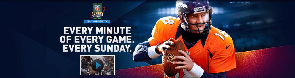 NFL SUNDAY TICKET on DIRECTV
