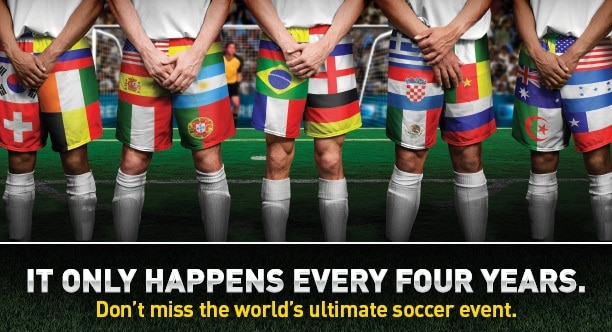 Exclusive Coverage of the 2014 FIFA World Cup on DIRECTV