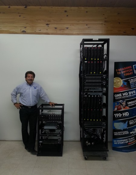 48 Channel Com2000 HD Headend vs 24 Channel SD Headend