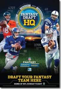 NFL Fantasy Draft from DIRECTV MVP Marketing -  DIRECTV for Business DIRECTV for Bars and Restaurants