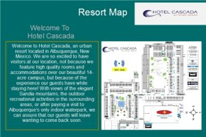 Com2000 Welcome Screen Guest Map - Its All About Satellites - Authorized DIRECTV Hospitality Solutions Dealer - DIRECTV for RV PArks and Campgrounds