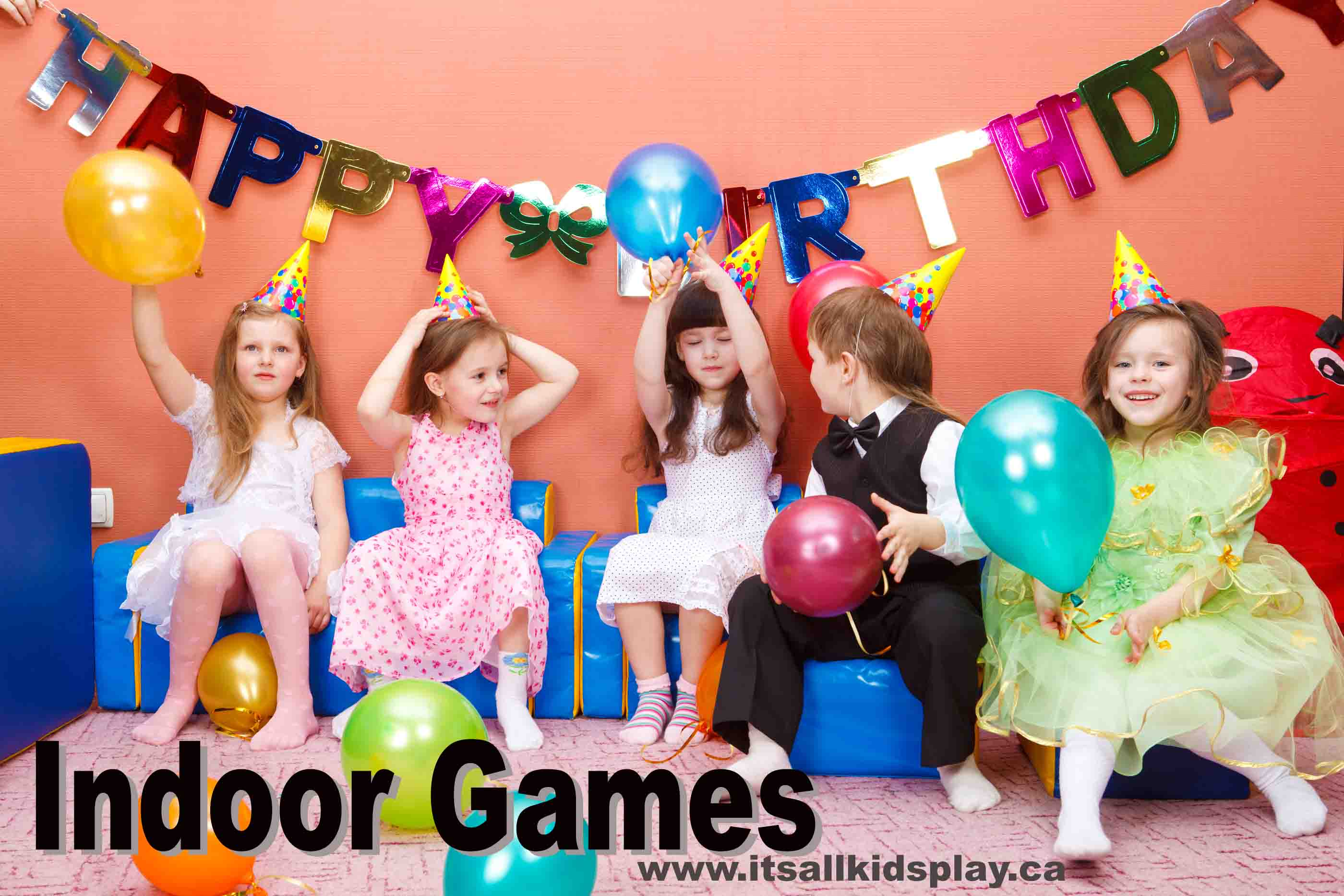 Indoor games it 39 s all kid 39 s play for Indoor party places for kids