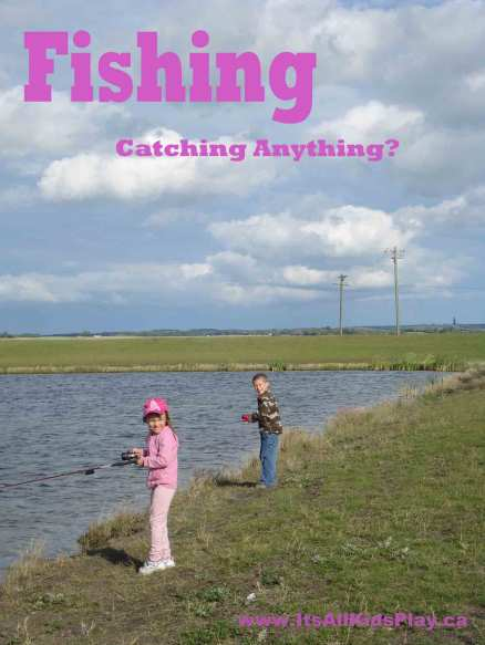 Fishing with the kids--catching anything?