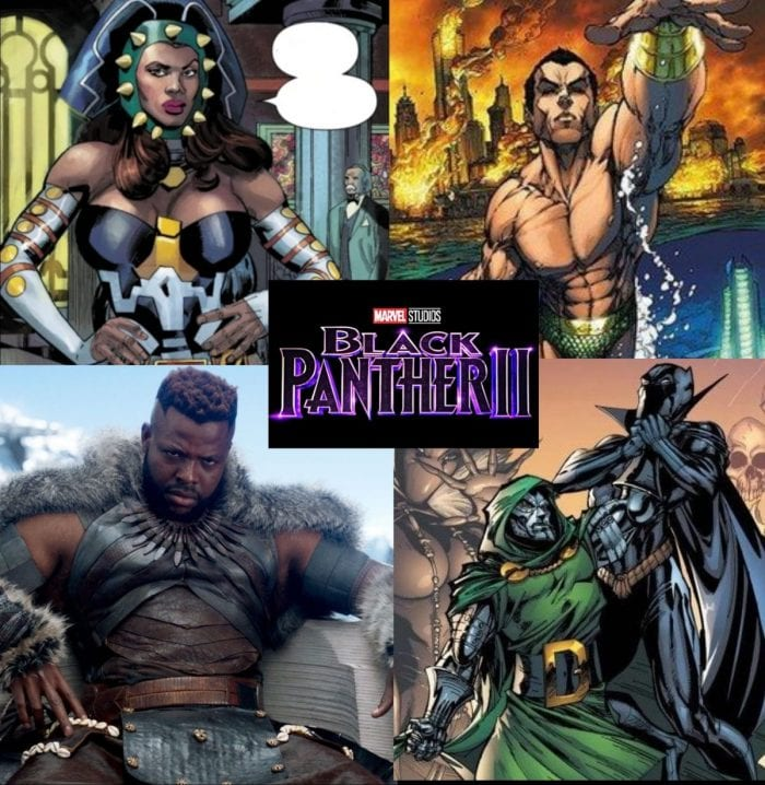 Who will be the villain in Black Panther 2?
