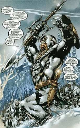 How M'Baku is portrayed in the Comics