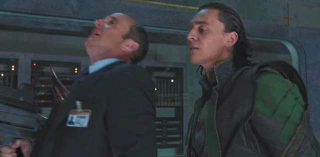 Loki kills Phil Coulson in The Avengers (2012)