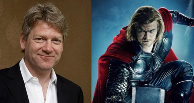 Thor Director Kenneth Branagh says he would be interested in making another Marvel movie