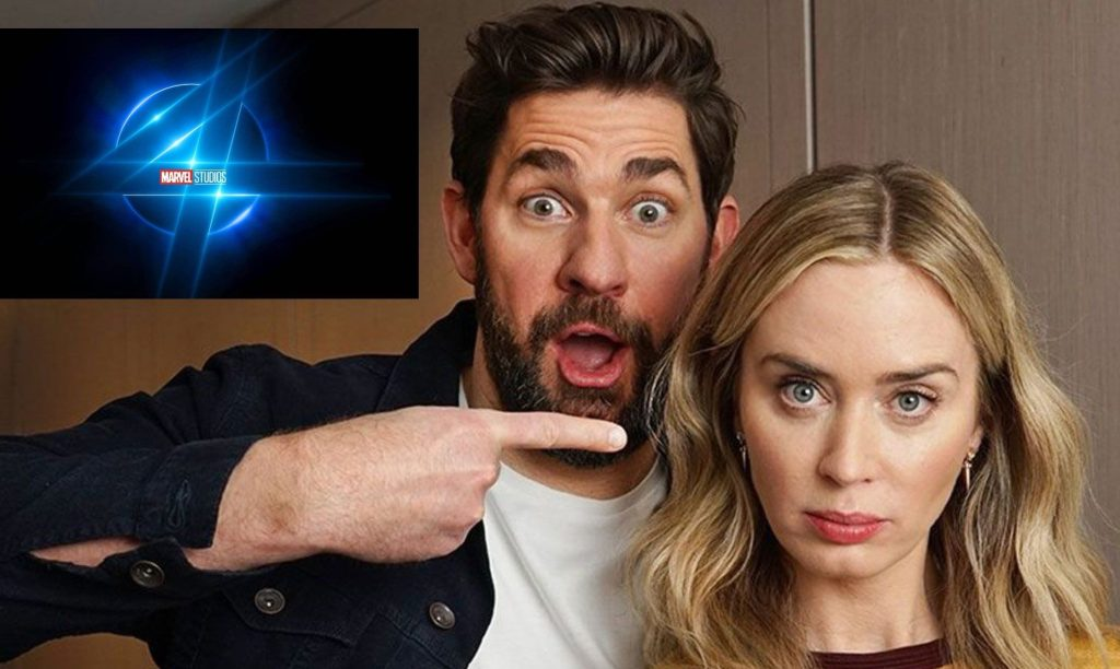 Bovada has Krasinski and Blunt as the betting favorites for roles in the MCU's Fantastic Four film